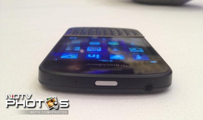 BlackBerry Q10: In pictures