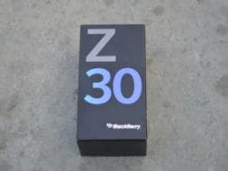 Photo : BlackBerry Z30