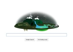 Photo : Earth Day Google doodles over the years