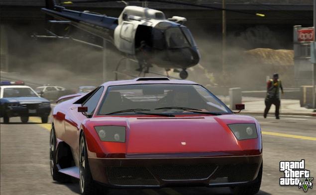 16. Grand Theft Auto V