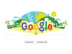 Photo : Google's World Cup 2014 Doodles