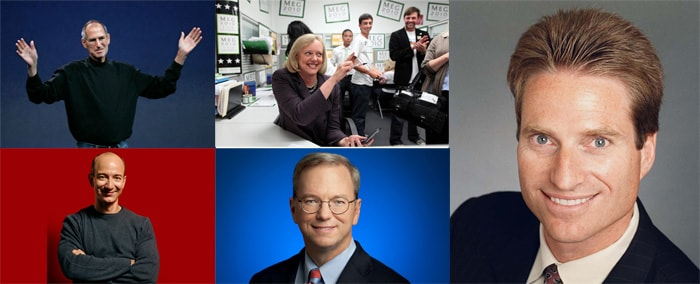 10 best-performing tech CEOs in the world