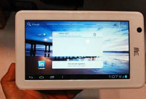 Photo : In Pics: HCL Me Tab U1