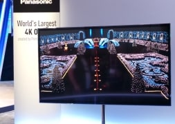 Photo : Home entertainment products at CES 2013