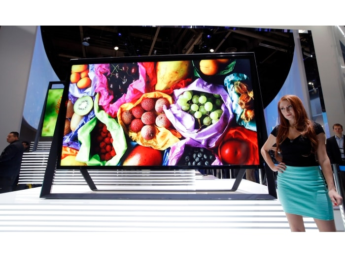 Home entertainment products at CES 2013