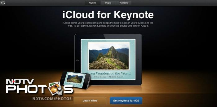 Exclusive First Look at Apple's iCloud