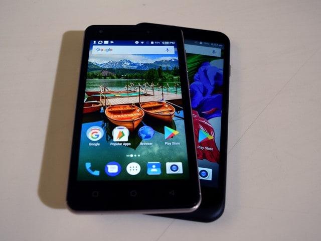 Karbonn K9 Kavach 4G and Karbonn Aura Note 2