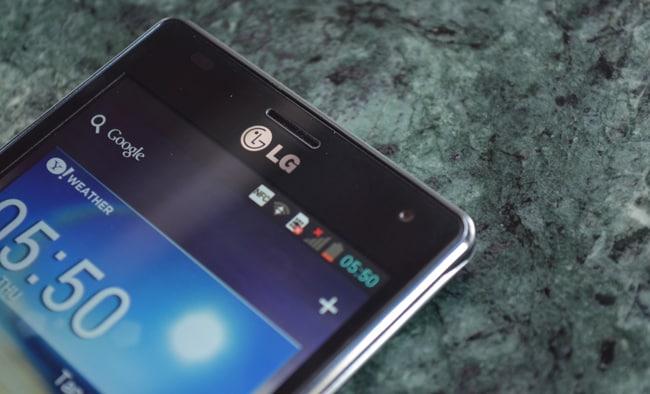 LG Optimus 4X HD: First look