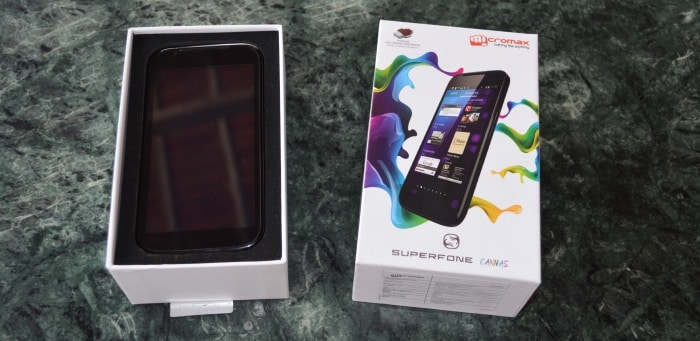 Micromax Canvas A100: First look