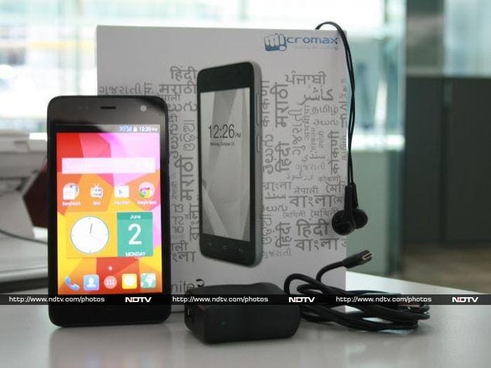 Micromax Unite   (pictures)   NDTV Gadgets