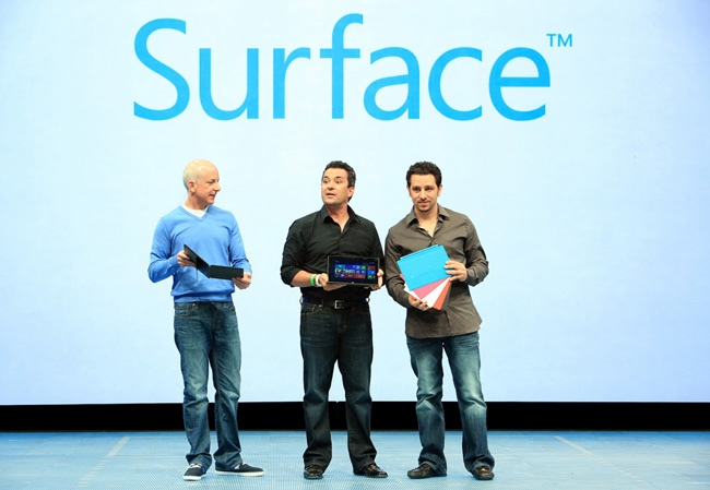 Microsoft Surface in pictures