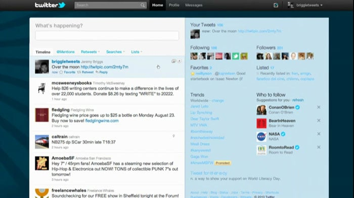 The all new Twitter