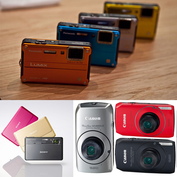 Top 10 Point & Shoot Digital Cameras