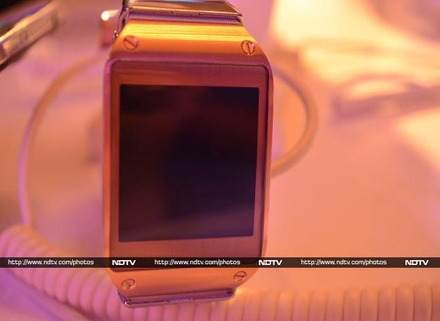 Samsung Galaxy Gear Smartwatch: First Look (pictures ...