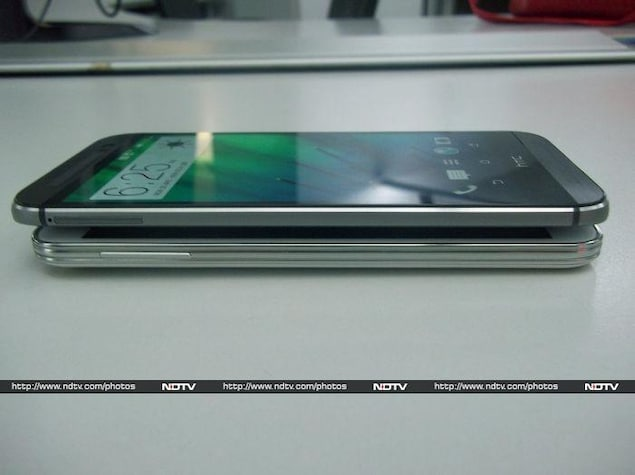 samsung galaxy s5 vs htc one m8 pictures ndtv gadgets