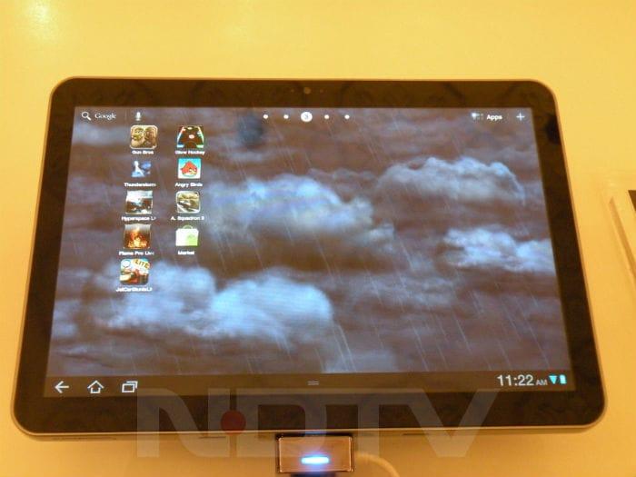 First look at Samsung Galaxy S II and Samsung Galaxy Tab 10.1