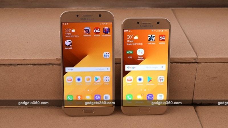Samsung Galaxy A7 (2017) and Galaxy A5 (2017)