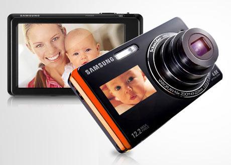 Samsung ST550 - Dual screen camera