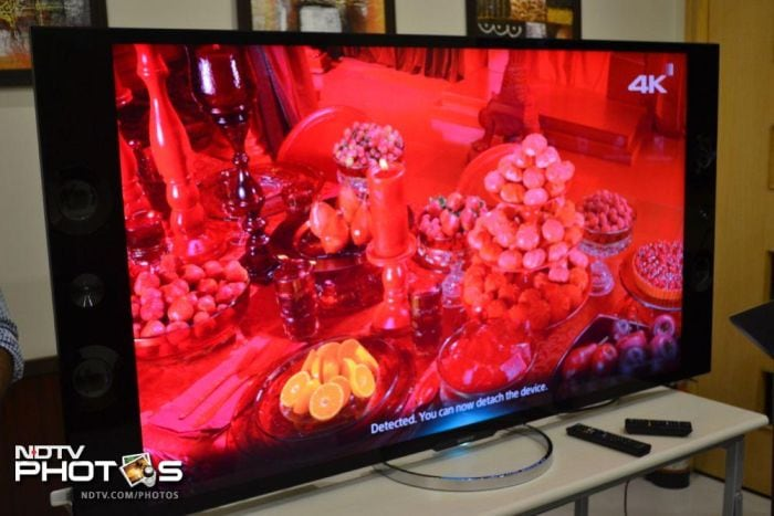 Sony's 65-inch 4K Ultra HD TV