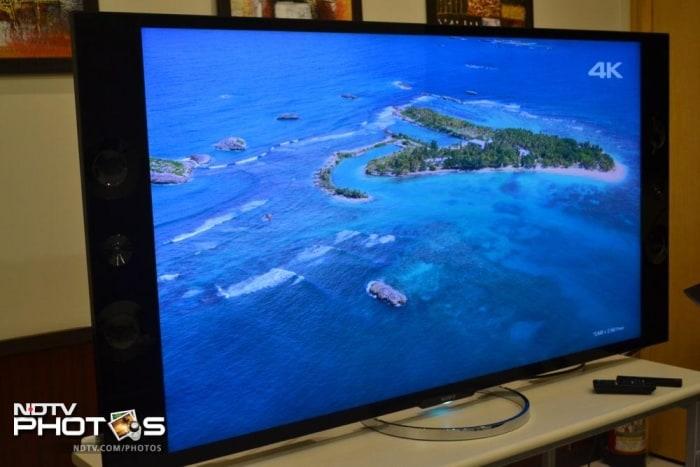 photos sonys  inch k ultra hd tv