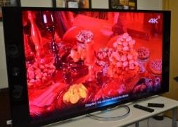 Photo : Sony's 65-inch 4K Ultra HD TV