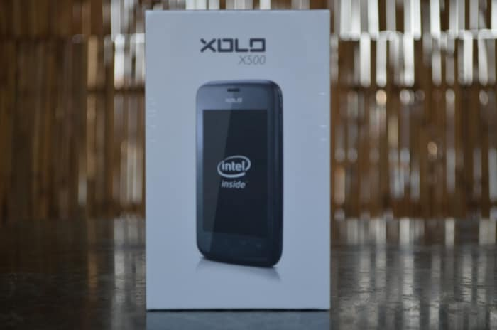 Xolo X500: In pictures