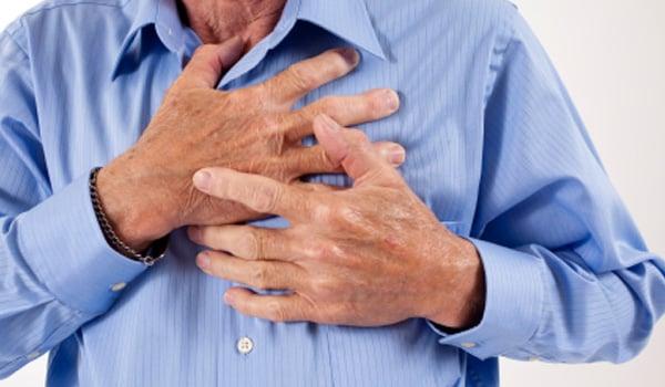 Preventing angina pain