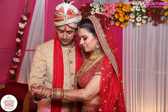 Abhishek and Nidhi promise to stand by each other through thick and thin
