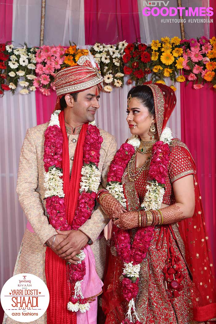 Our much in love couple is all set to embark on the new journey of their lives
