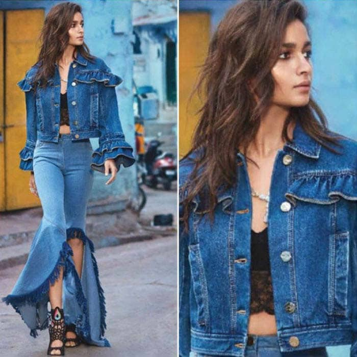 Alia did justice to the grunge chic look courtesy Dolce and Gabbana,Victoria-Beckham and Osman.