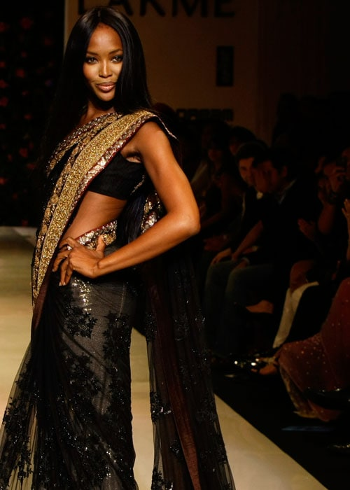 Naomi walks the ramp
