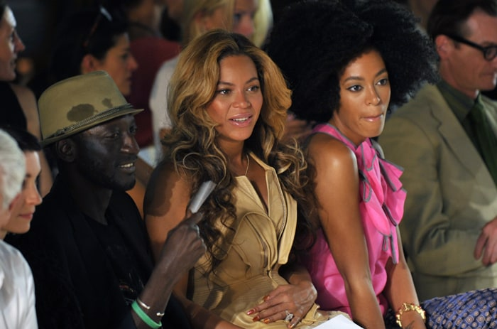 Beyonce, the Olsens at New York Fashion Week