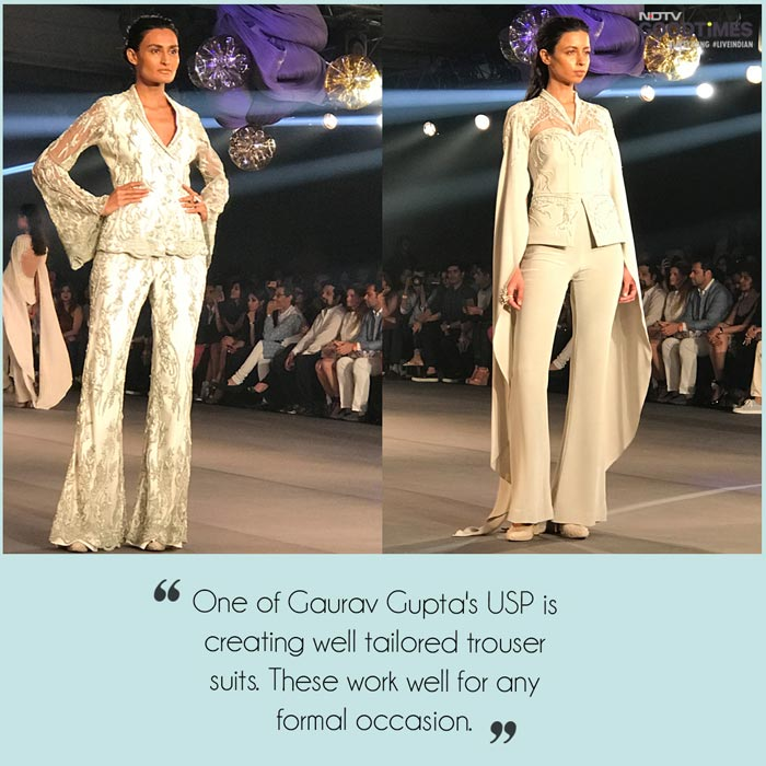 Ambika's favourite 5 from Gaurav Gupta at the FDCI India Couture Fashion Week 2017