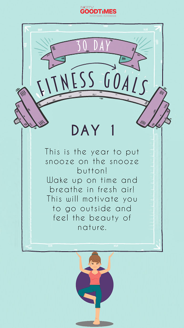 30 Day Fitness Goals