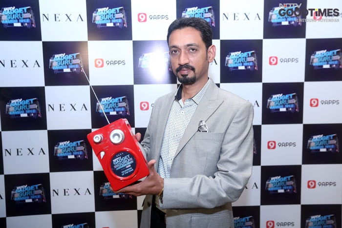 Amit-Gujral, Head Corporate Marketing ,LG-Electronics India takes home the best TV of the year