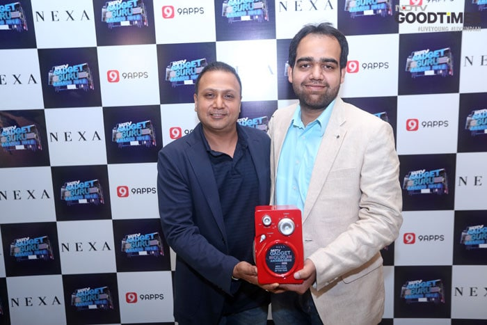 Ankur Rohatgi,Coporate Strategy and Business planning, South Asia & India , HTC wins Nexa Tech Innovation of the Year for HTC Vive
