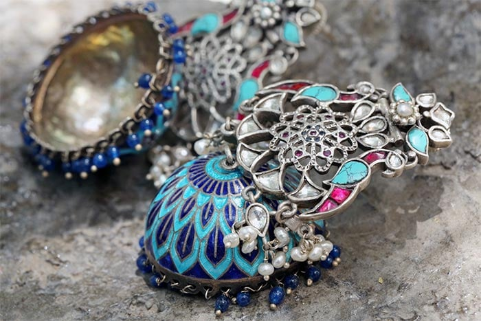 Exquisite silver jewllery from Apala