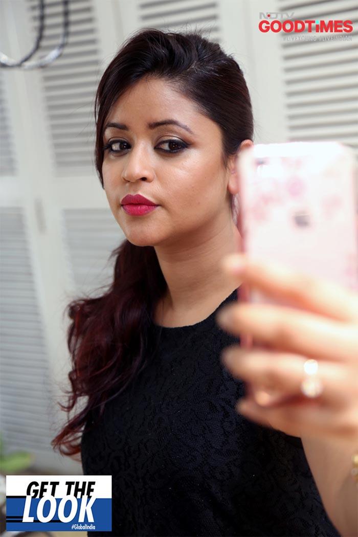 Saniya loving her new look