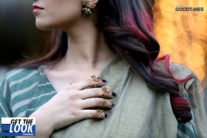 OutHouse Jewellery adding that glam factor to Kajal's final look