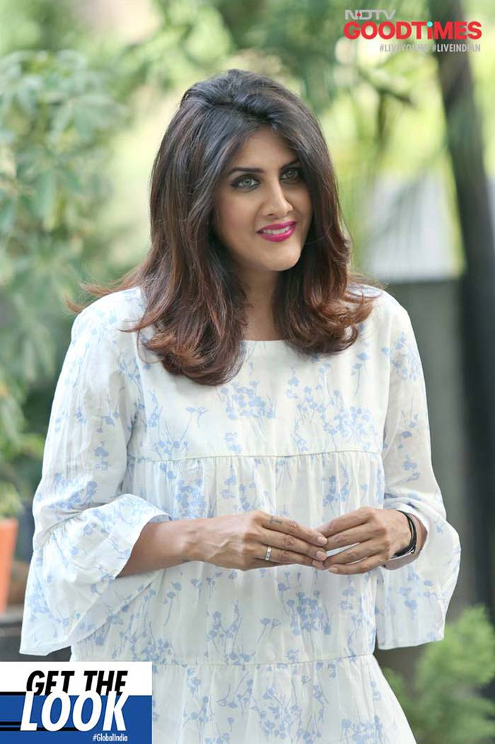 Ambika Anand smiles for the camera