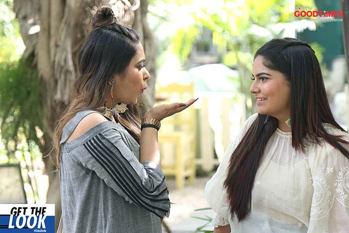 The sisterly love captured on camera amidst the makeover