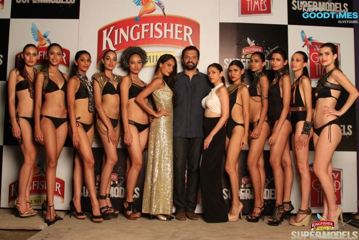 ... Kingfisher Supermodels 2014 and unveiled the Kingfisher Calendar Girl