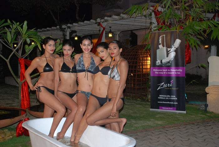 It's party time for Kingfisher girls