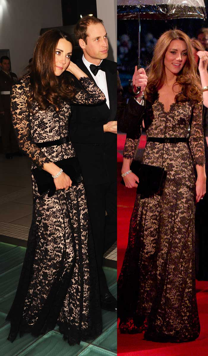Kate, Emma rock lace dresses, Cher doesn't