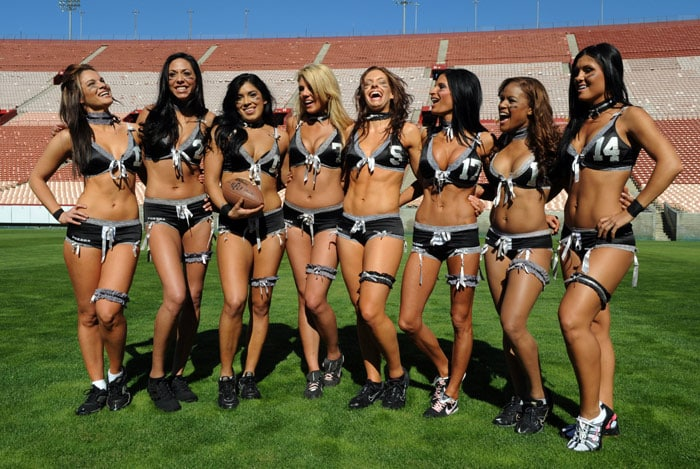 Football girl team