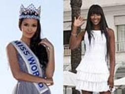 Photo : Miss World Megan Young and Naomi Campbell attends MIPCOM at Cannes