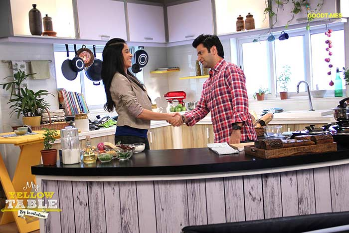 Varnika, Chef Kunal Kapur Cook Up a Storm in the Kitchen