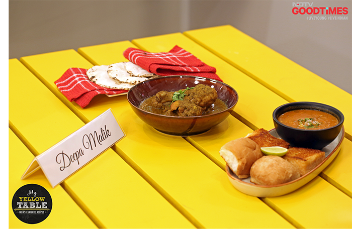 Don't Miss This Delightful Maharashtrian Spread On My Yellow Table