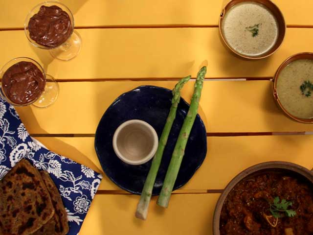 My Yellow Table: Recipes of Rarrah Gosht, Red Chilli Achaar Parantha