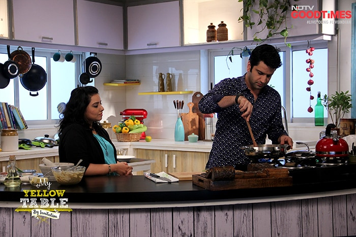 Pushtiie Shakti's Keen to Cook More Often Thanks to Kunal Kapur